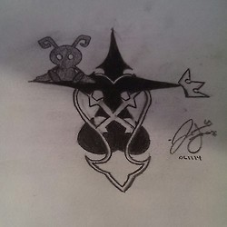 Heartless Tattoo sketch by eyitzjaytea