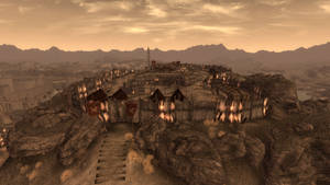 Fallout New Vegas Fortification Hill by mikeeu76