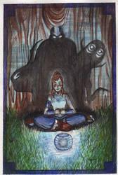 Korra - meditation