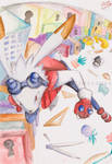 KING KAZMA chasing to the trap