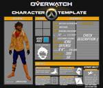 [Overwatch OC] Matthias - Reference Sheet
