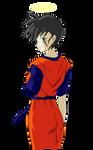 Mirai Gojin (Female Future Gohan)