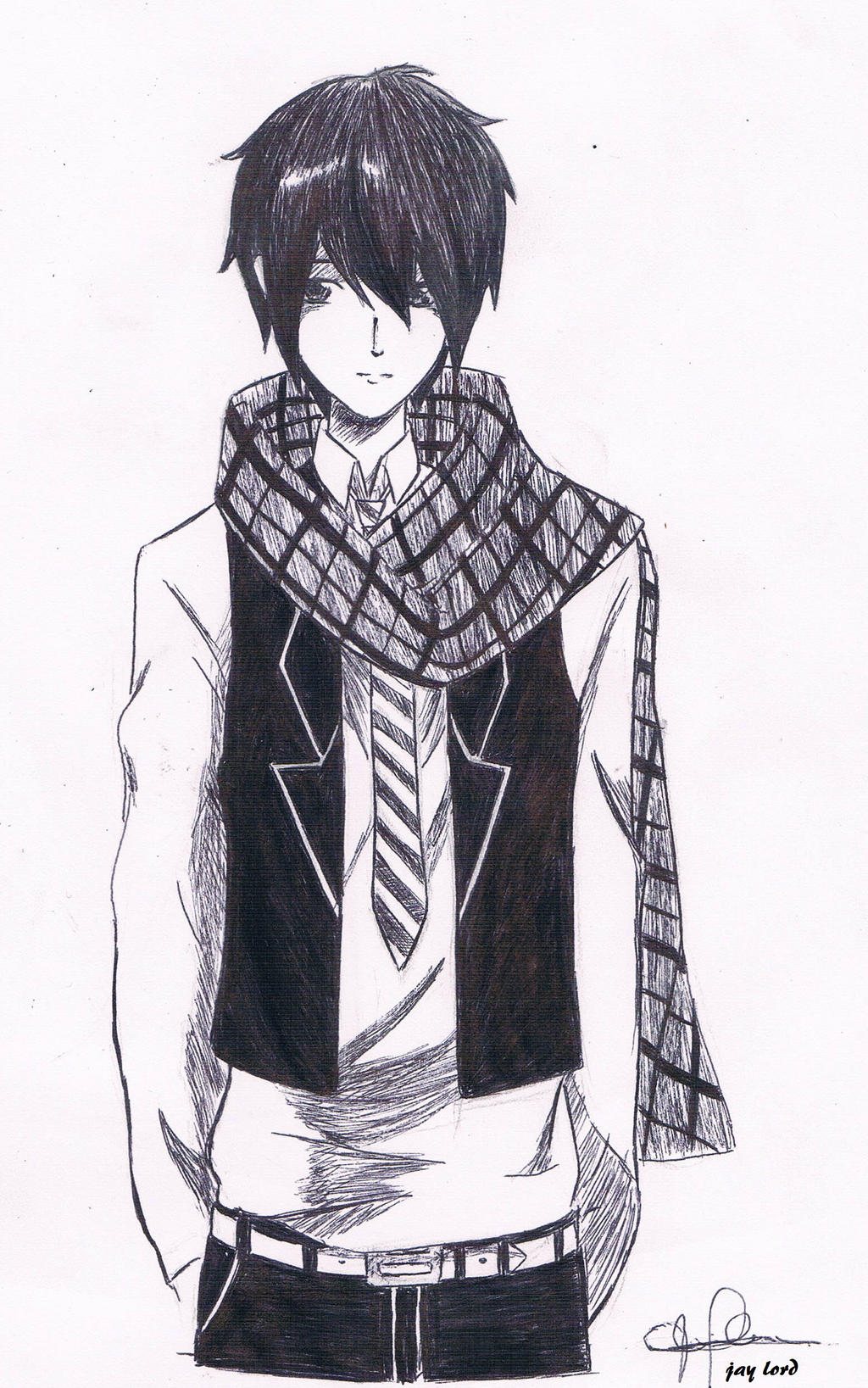 Cool Anime Guy By Jlordsasshi48 On Deviantart