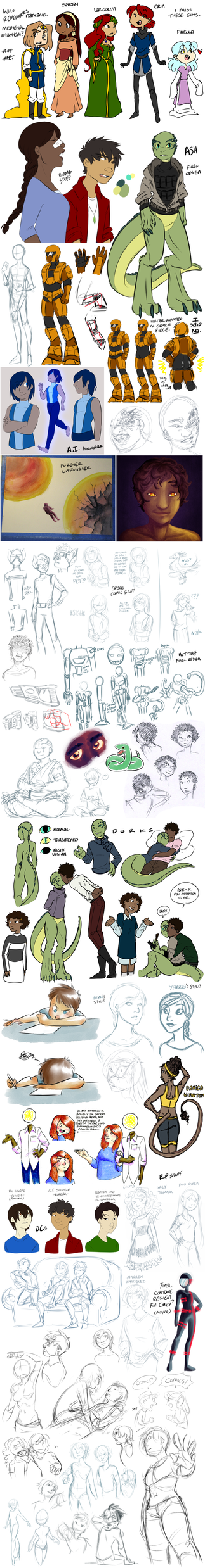 Sketchdump 80 by ratopiangirl
