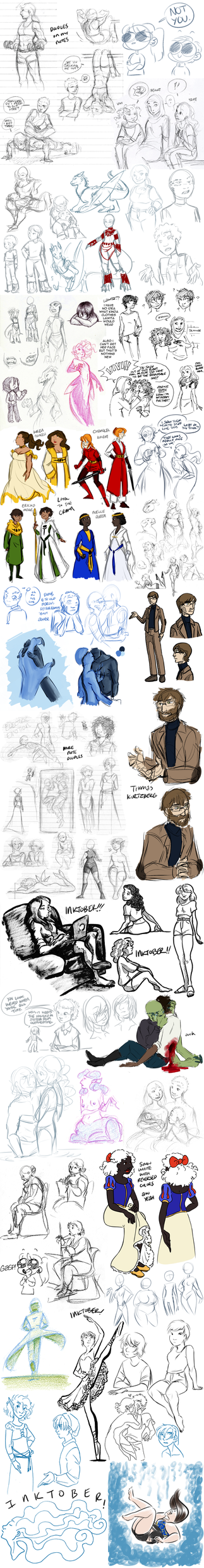 Sketchdump 81 by ratopiangirl