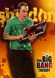 Sheldon Cooper Poster by MartinGen