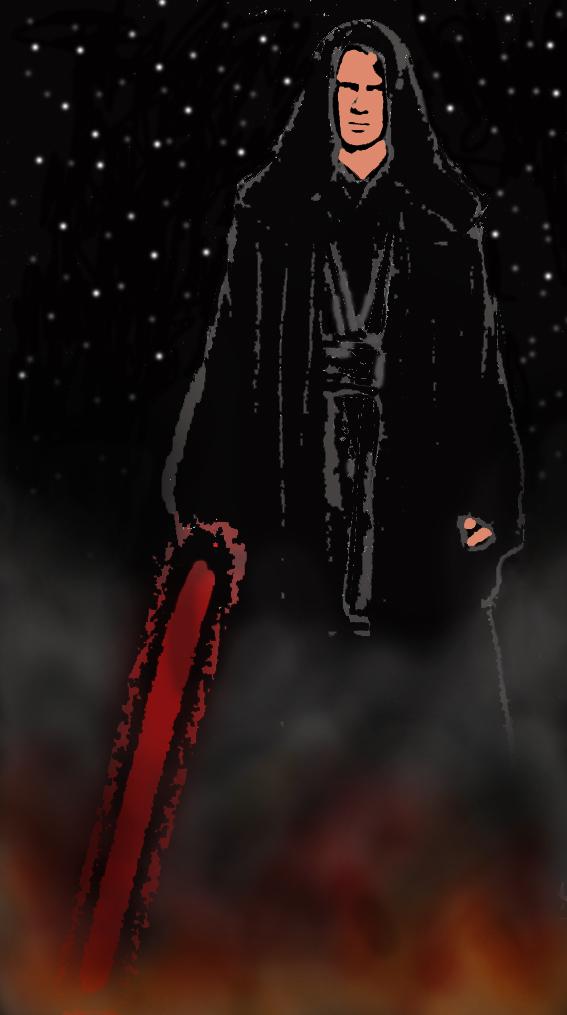 Darth Vader before armour by DarkSideCookies