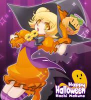 makune hachi halloween by yuu-620776