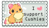 I support Cushies Stamp by Cushies