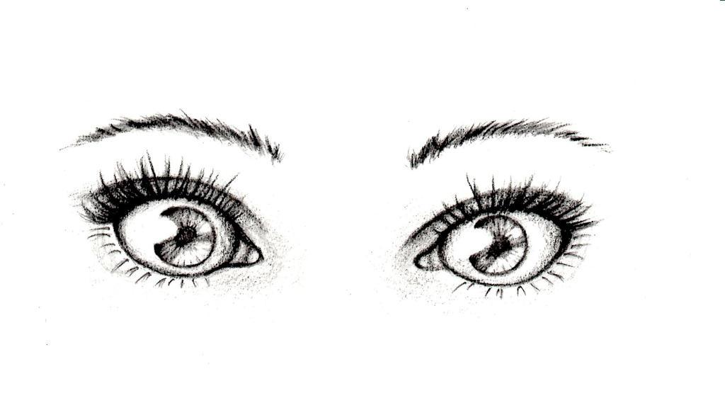 How to draw an eye tumblr - YouTube  Two Eye Drawing Tumblr