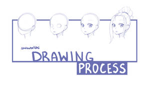 Drawing Process! next four steps available...