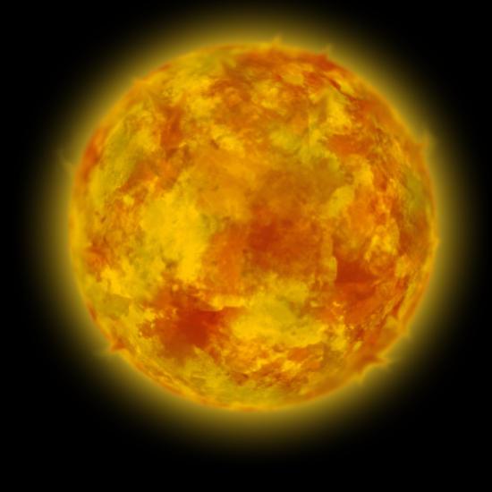 v1.0 Yellow Dwarf Star by ArtByte on DeviantArt