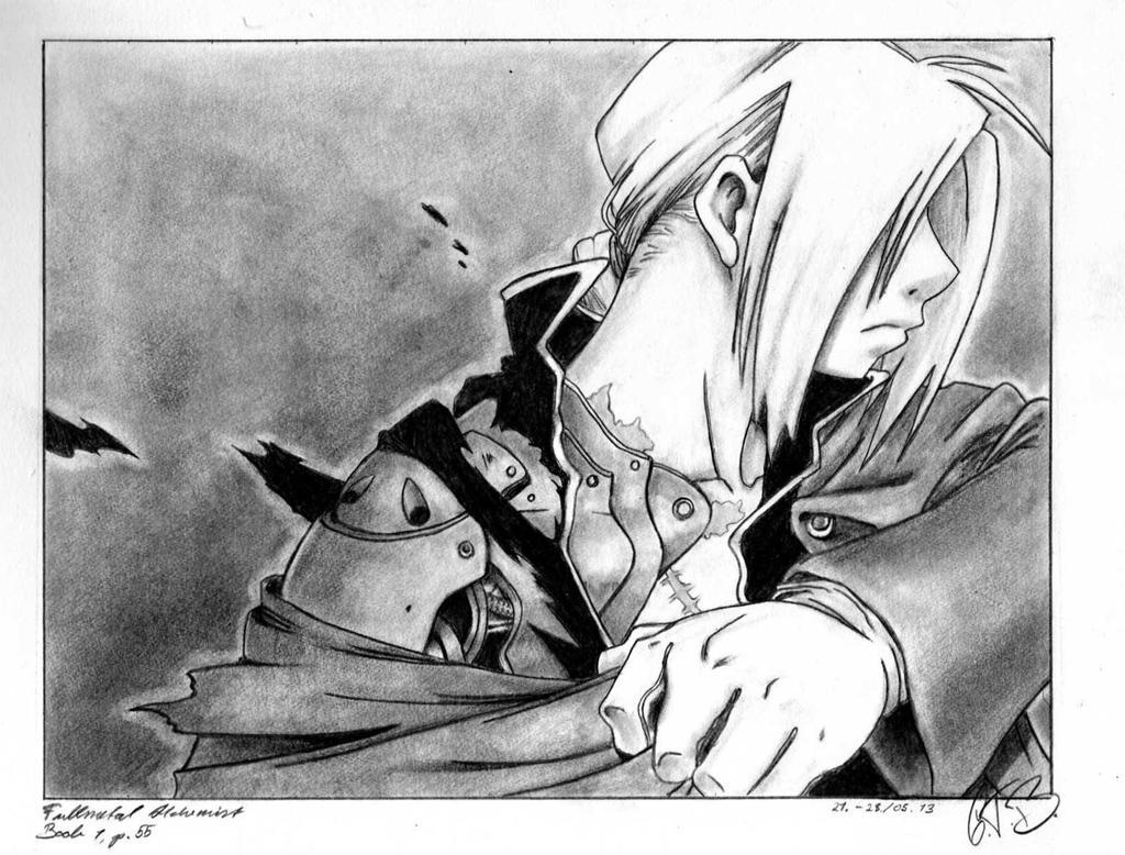 Fullmetal Achemist: Edward Elric2 by Luthien20