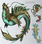 ADOPTABLE Close:RANDOM MONSTER 10[Auction][paypal]