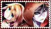 Satsuriku no Tenshi Stamp by Chiyo-Orihara
