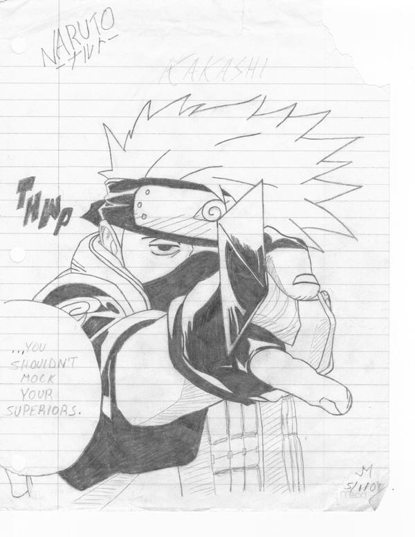 kakashi's advice by bullzye