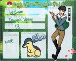 PokemonTownShip Application: William|Daycare