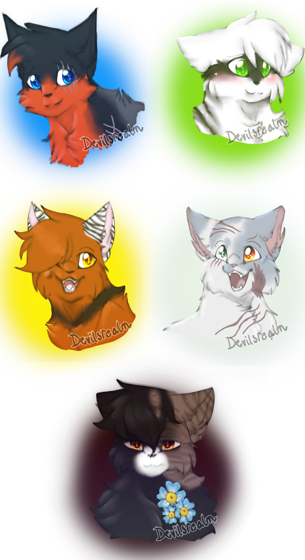 TSC- Happy Cats by DevilsRealm