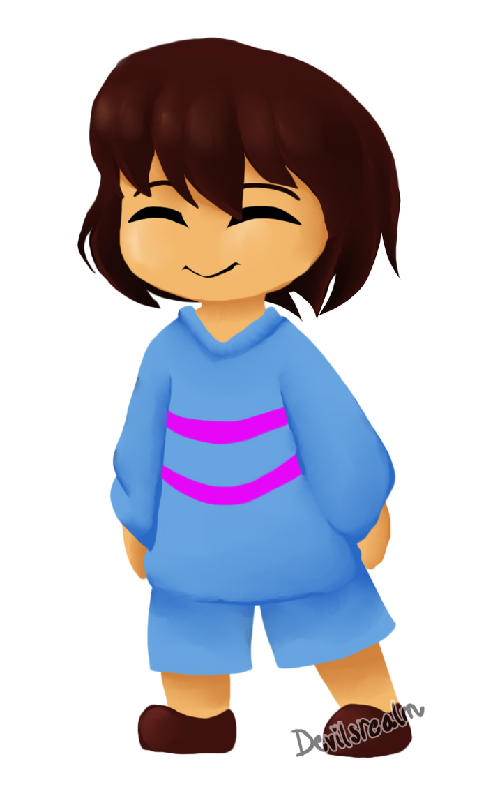 Undertale| The Pacifist Child by DevilsRealm