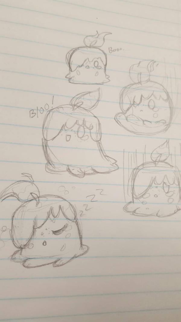 PTS- Crying candle doodles by DevilsRealm