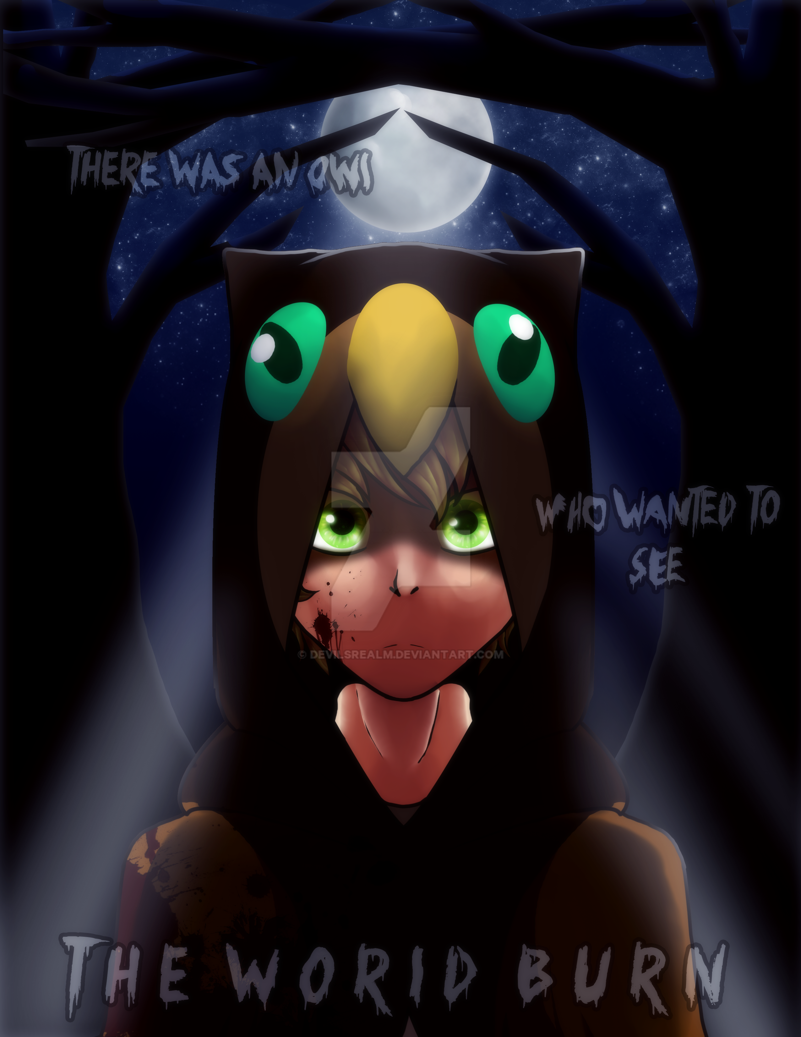 Mine| The Owl Boy by DevilsRealm