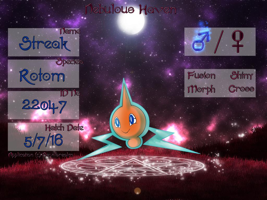 PKMN|Application|Streak| by DevilsRealm