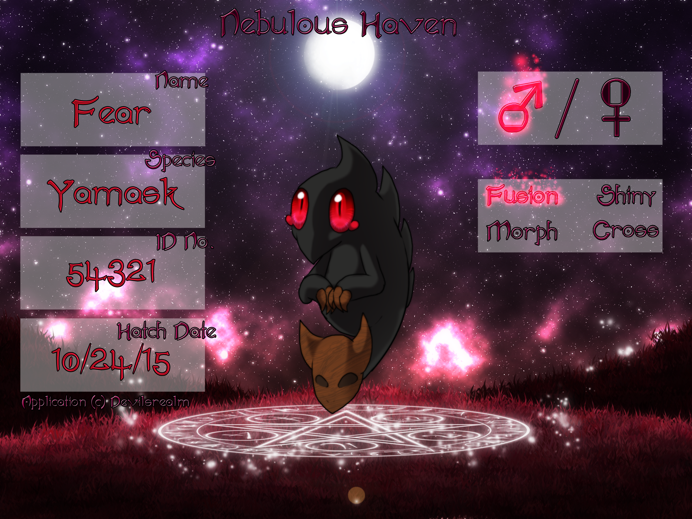 PKMN|Fear| Outdated!! by DevilsRealm