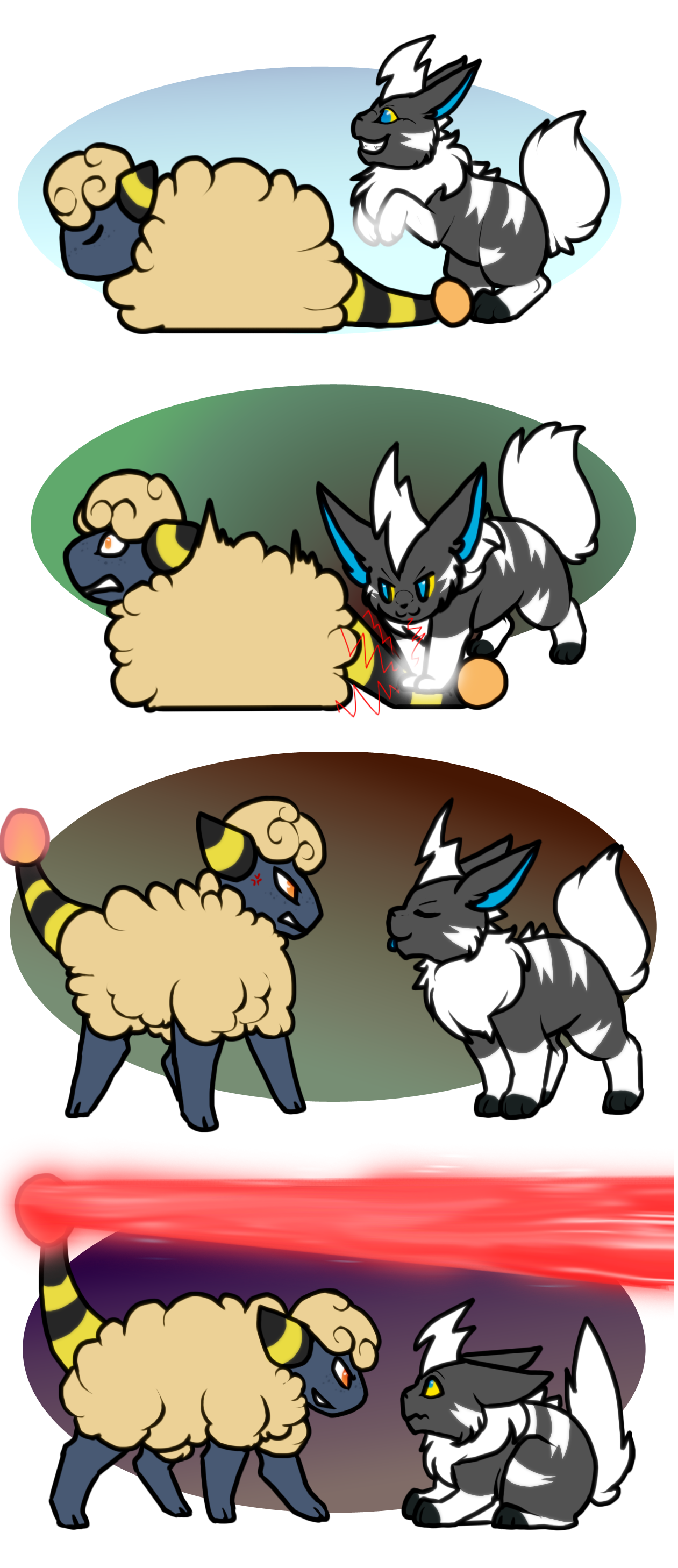 PKMN|Moves| Stomp and Power Gem by DevilsRealm
