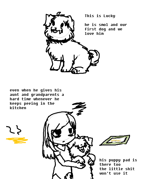 Lucky The Pupper by DevilsRealm