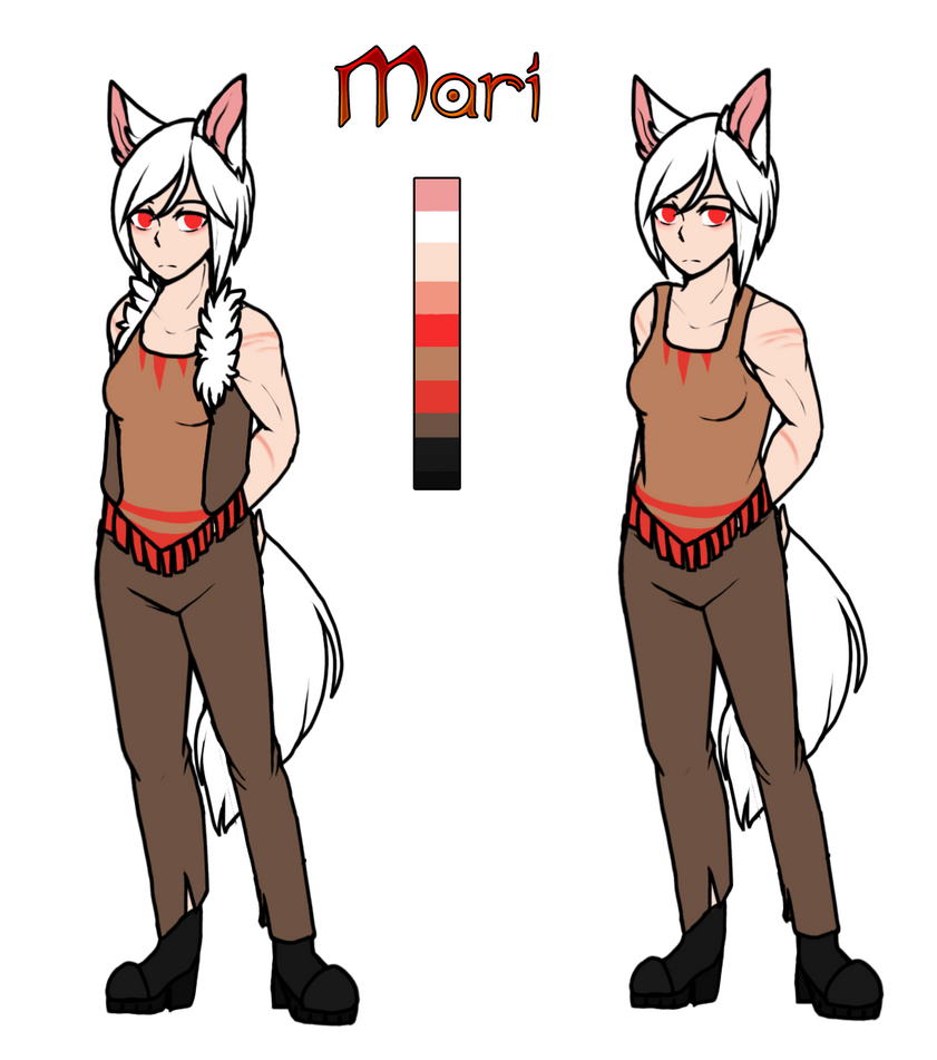 Mine| Character Ref |Mari| by DevilsRealm