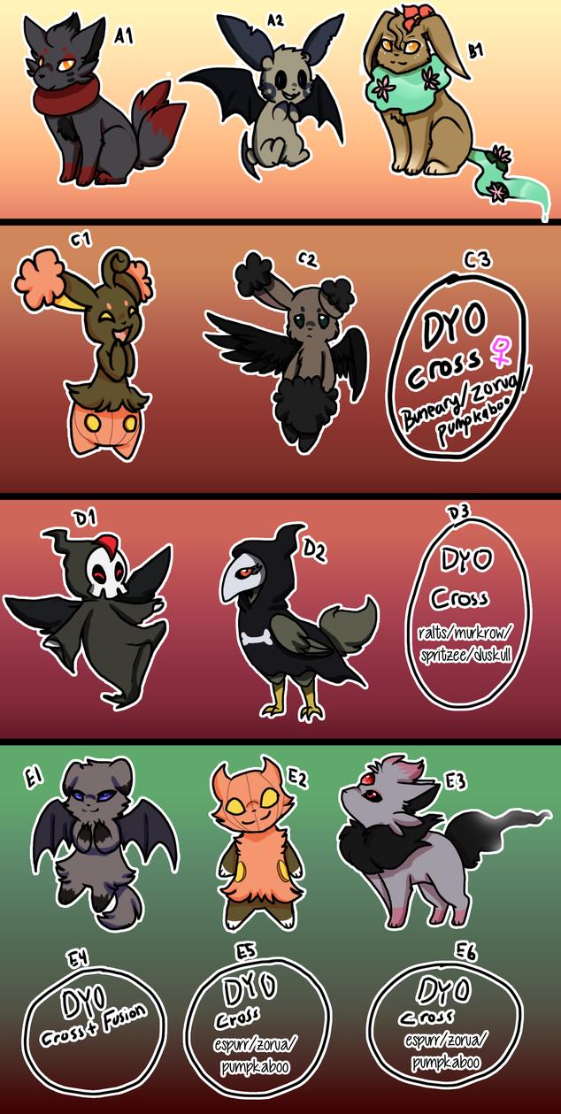 PKMN|Clutch Dump 08 {Halloween Clutch} [Closed] by DevilsRealm