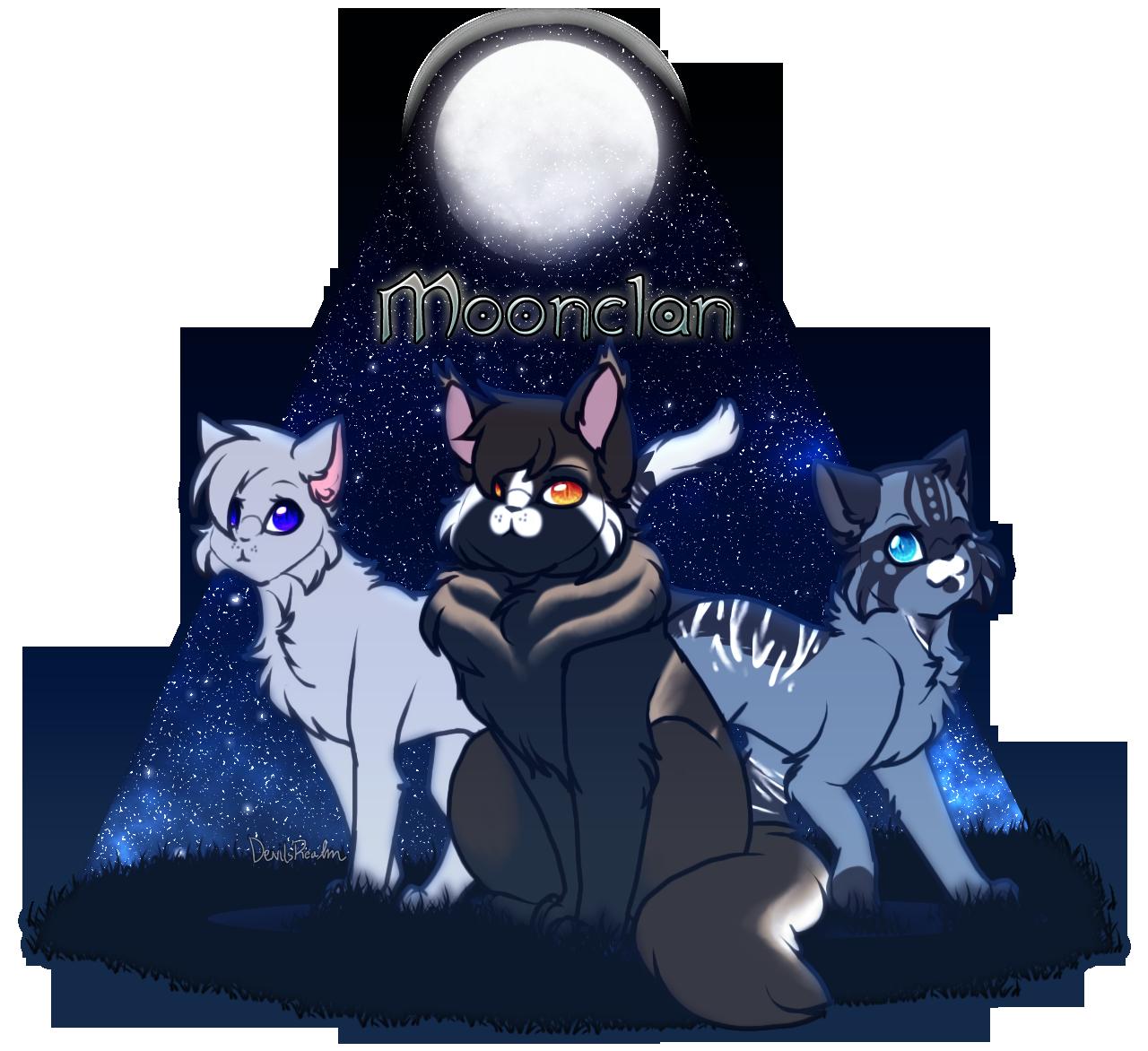 POF| Moonclan's Higher Ranks by DevilsRealm