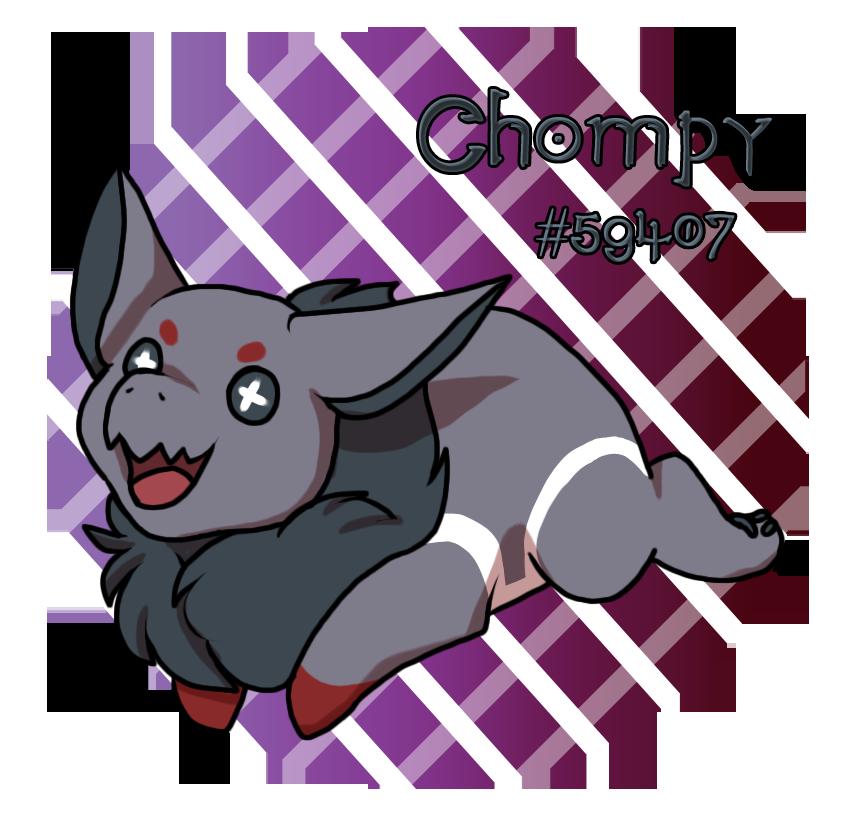 PKMN|Chompy| by DevilsRealm