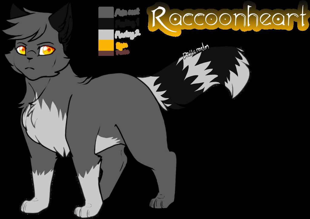 Mine| Raccoonheart Ref by DevilsRealm