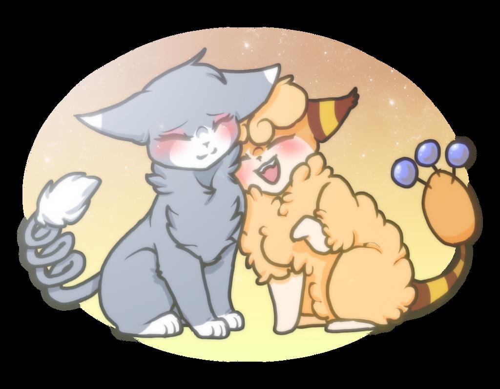 PKMN| Kitty Cuddles by DevilsRealm