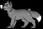 Warriors OC|Cloudfur by DevilsRealm