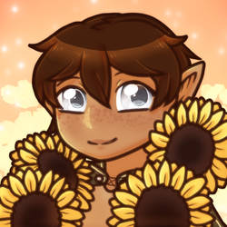 Mine| Sunflower boi by DevilsRealm