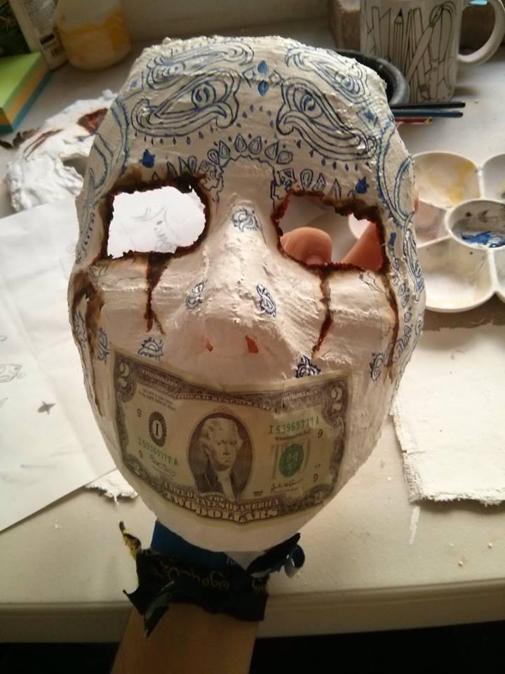 Hollywood Undead J Dog Mask 2013 J-Dog Hollywood Undead...