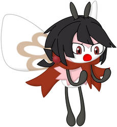 Commission: Zinnia the Ribombee by P1nkApple