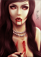Vampiress by Miwaki