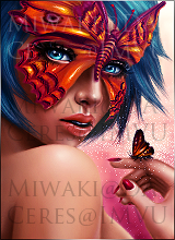 Butterfly Girl by Miwaki
