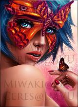 Butterfly Girl by Miwaki