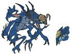 Night Terror Creature design