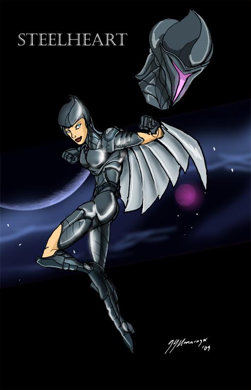 Silverhawk Steelheart by JazylH