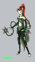 Batman Redesign Poison Ivy