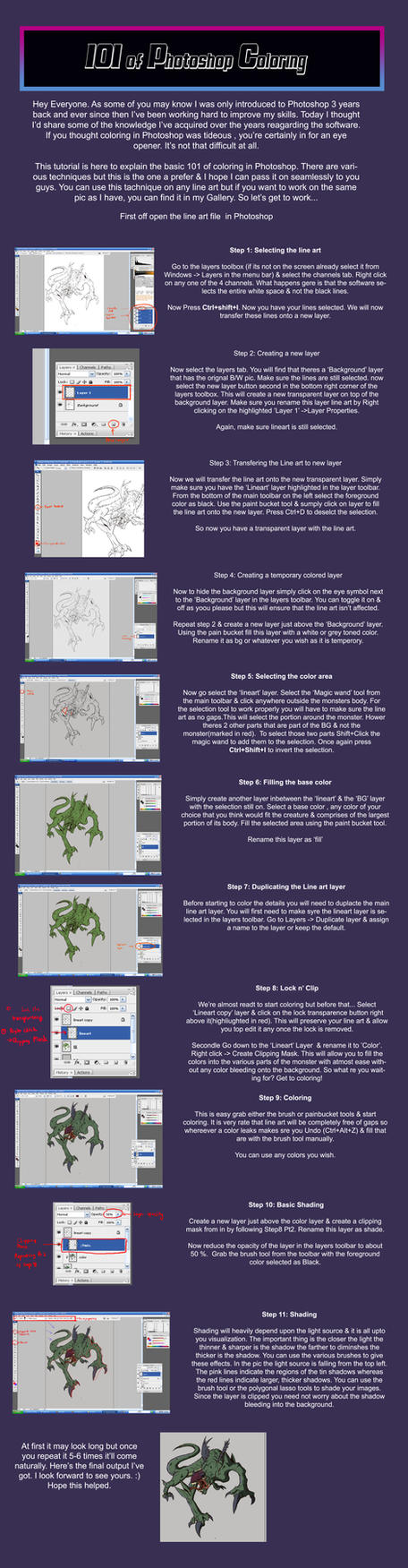 Photoshop coloring tutorial by jazylh on deviantart photoshop coloring tutorial by jazylh baditri Images