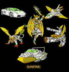 TF Sunstar the six changer