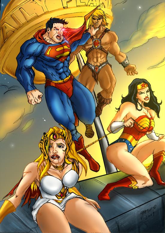 DC takes on MOTU by JazylH