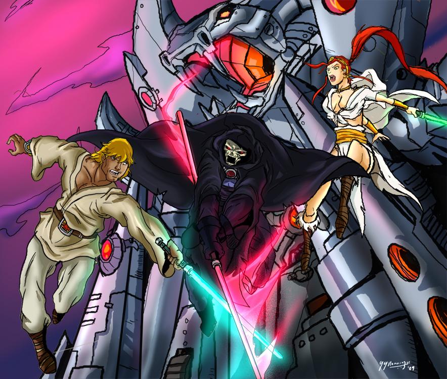 Star Wars goes MOTU by JazylH on DeviantArt