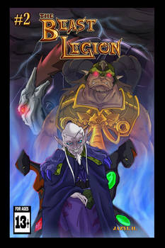 Beast Legion Issue 2 cover